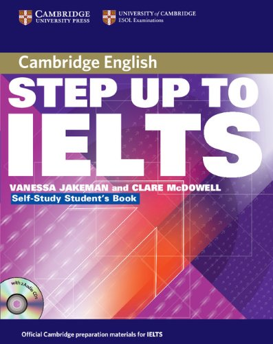 9780521533027: Step Up to IELTS Self-study Pack