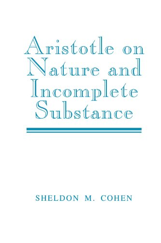 9780521533133: Aristotle on Nature and Incomplete Substance