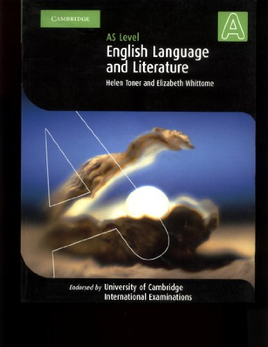 9780521533379: English Language and Literature AS Level (Cambridge International Examinations)