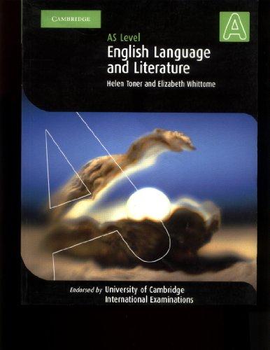 9780521533379: English Language and Literature AS Level (Cambridge International Examinations)