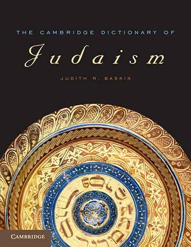 9780521533393: The Cambridge Dictionary of Judaism and Jewish Culture