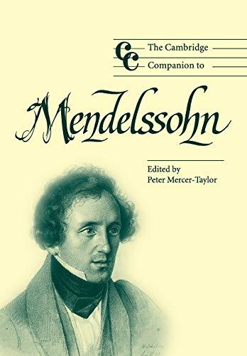 9780521533423: The Cambridge Companion to Mendelssohn (Cambridge Companions to Music)