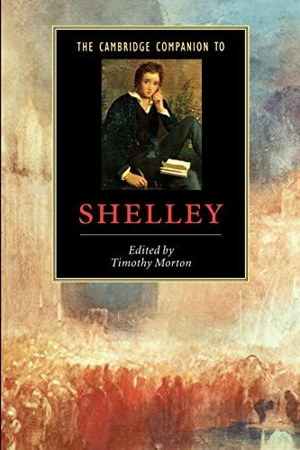 9780521533430: The Cambridge Companion to Shelley