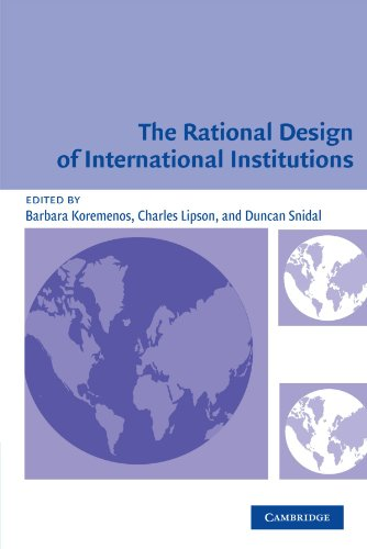 9780521533584: The Rational Design of International Institutions (International Organization)