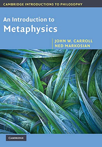 9780521533683: An Introduction to Metaphysics (Cambridge Introductions to Philosophy)