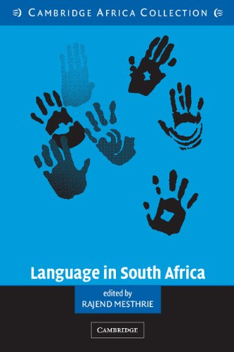 9780521533836: Language in South Africa South African Edition