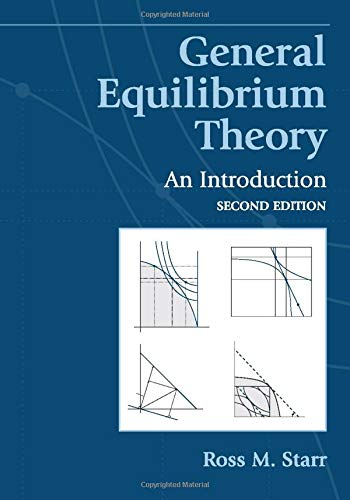 9780521533867: General Equilibrium Theory: An Introduction