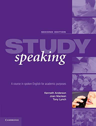 9780521533966: Study Speaking