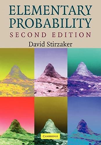 9780521534284: Elementary Probability