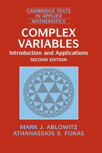 9780521534291: Complex Variables: Introduction and Applications (Cambridge Texts in Applied Mathematics)