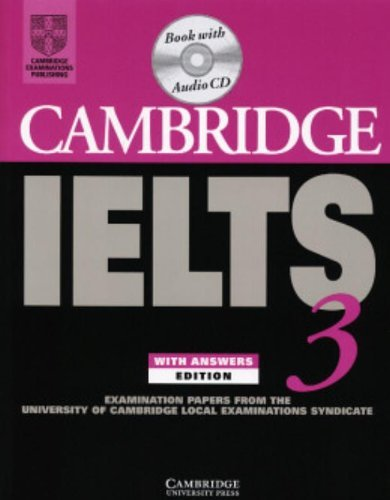 9780521534635: Cambridge IELTS 3 Self-Study Pack (Indian Version): Examination Papers from the University of Cambridge Local Examinations Syndicate