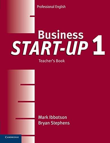 9780521534666: Business Start-Up 1 Teacher's Book