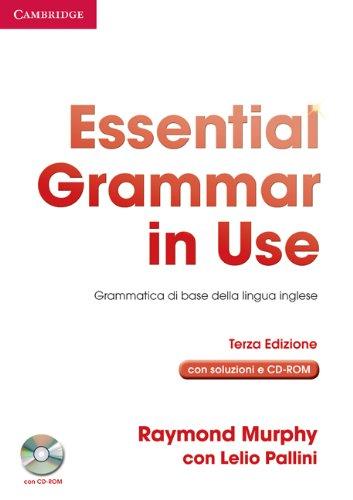 9780521534888: Essential grammar in use. With answers. Ediz. italiana. Per le Scuole superiori. Con CD-ROM