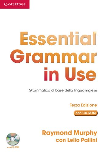 9780521534895: Essential Grammar in Use Book without Answers with CD-ROM Italian Edition: Grammatica di Base della Lingua Inglese
