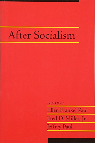 9780521534987: After Socialism: Volume 20, Part 1 (Social Philosophy and Policy) (v. 20)
