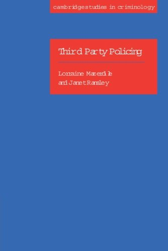 9780521535076: Third Party Policing