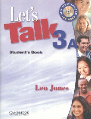 9780521535489: Let's Talk 3A