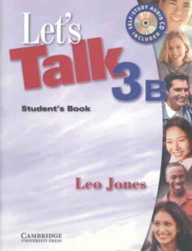 9780521535496: Let's Talk 3B