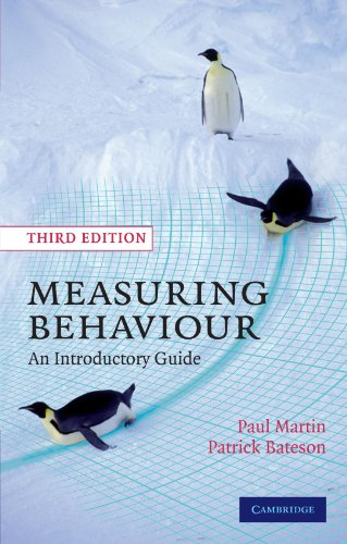 Measuring Behaviour: An Introductory Guide: Paul Martin, Patrick