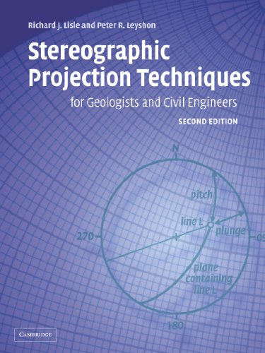 9780521535823: Stereographic Projection Techniques for Geologists and Civil Engineers