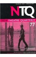 New Theatre Quarterly 77: Volume 20, Part 1: Trussler, Simon