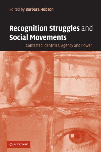 9780521536080: Recognition Struggles and Social Movements: Contested Identities, Agency and Power