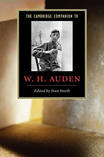 9780521536479: The Cambridge Companion to W. H. Auden (Cambridge Companions to Literature)