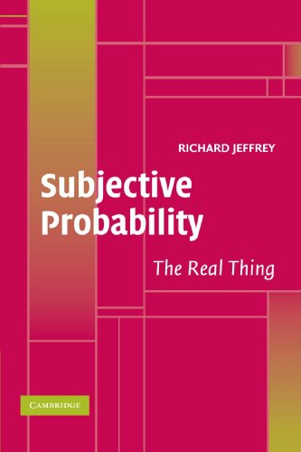 9780521536684: Subjective Probability Paperback: The Real Thing