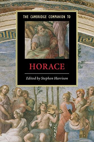 9780521536844: The Cambridge Companion to Horace (Cambridge Companions to Literature)