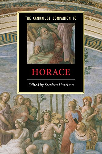 9780521536844: The Cambridge Companion to Horace