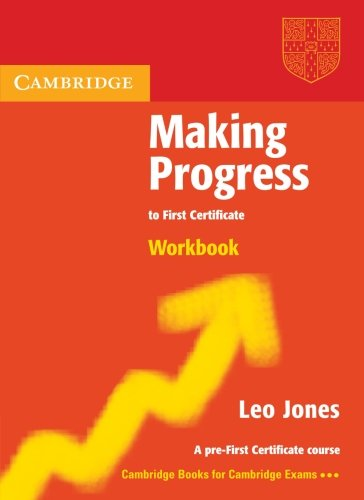 9780521537056: Making Progress to First Certificate Workbook (Cambridge Books for Cambridge Exams)