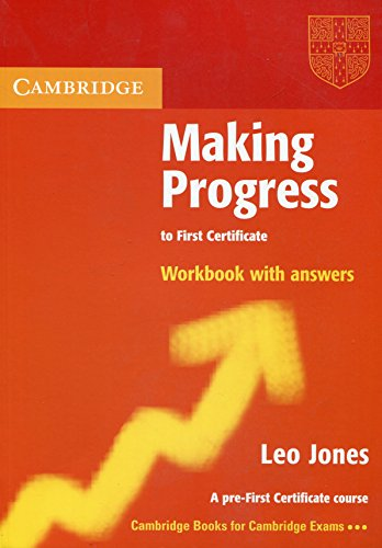9780521537063: Making Progress to First Certificate Workbook with Answers (Cambridge Books for Cambridge Exams)