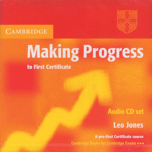 9780521537087: Making Progress to First Certificate Audio CD Set (2 CDs) (Cambridge Books for Cambridge Exams)