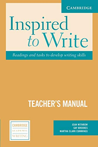 Inspired to Write : Readings and Tasks: Jean Withrow