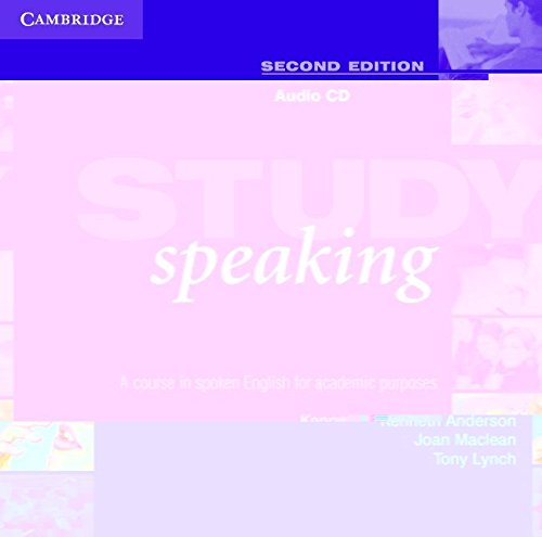 9780521537193: Study Speaking Audio CD: A Course in Spoken English for Academic Purposes