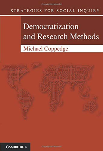9780521537278: Democratization and Research Methods (Strategies for Social Inquiry)