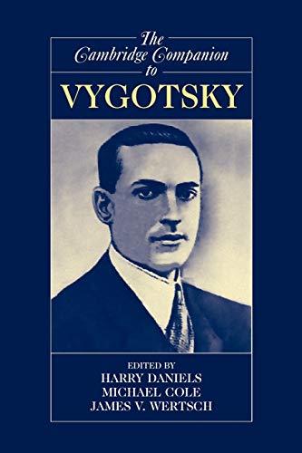 9780521537872: The Cambridge Companion to Vygotsky