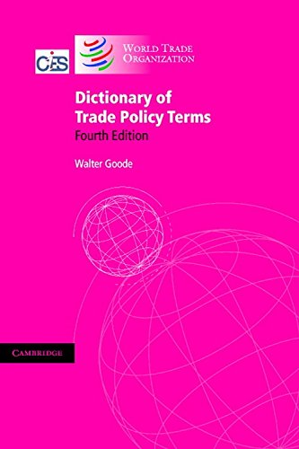 9780521538251: Dictionary of Trade Policy Terms