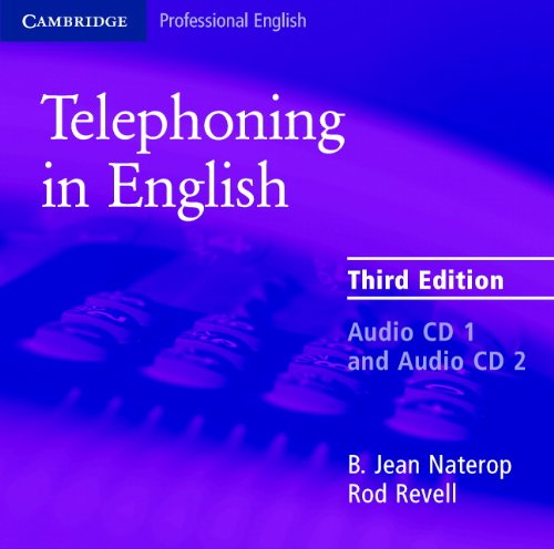 9780521539135: Telephoning in English Audio CD (Cambridge Professional English)