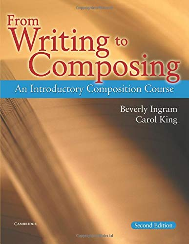 9780521539142: From Writing to Composing 2nd Student's Book: An Introductory Composition Course