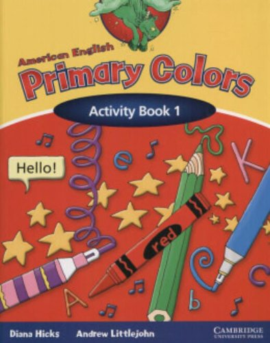 9780521539173: American English Primary Colors 1 Activity Book (Primary Colours)