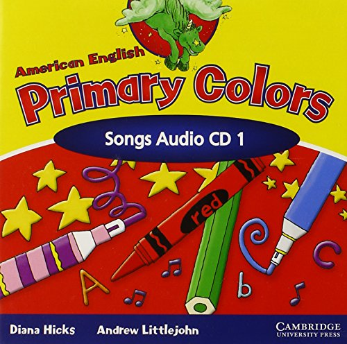 9780521539180: American English Primary Colors 1 Songs CD (Primary Colours)