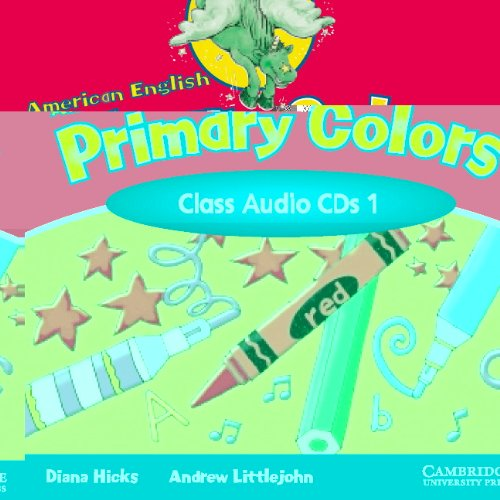 9780521539197: American English Primary Colors 1 Class CD (Primary Colours)