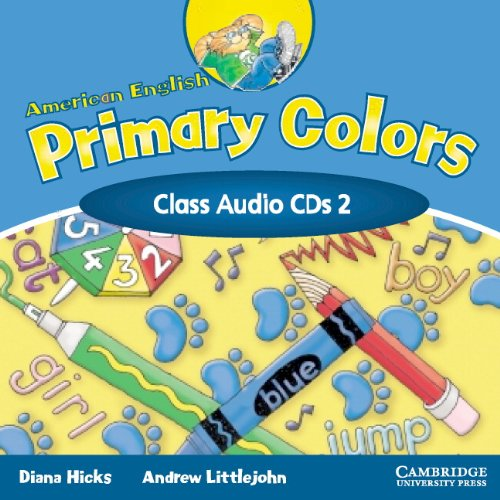 9780521539234: American English Primary Colors 2 Class CD (Primary Colours)
