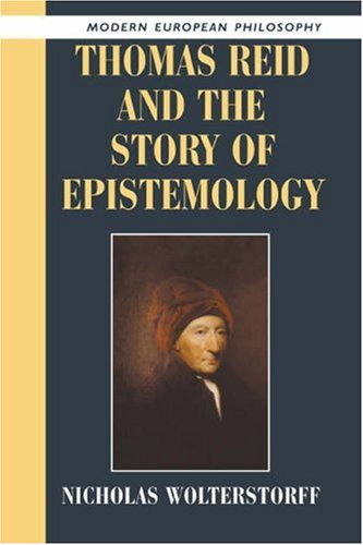 9780521539302: Thomas Reid and the Story of Epistemology (Modern European Philosophy)