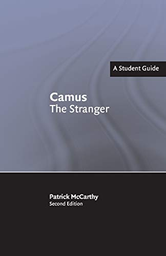 9780521539777: Camus: The Stranger