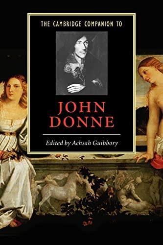 9780521540032: The Cambridge Companion to John Donne (Cambridge Companions to Literature)