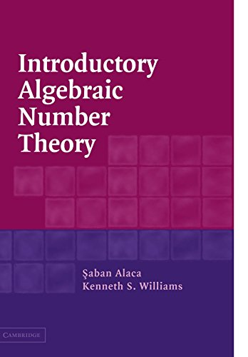 9780521540117: Introductory Algebraic Number Theory