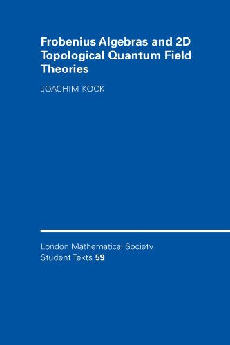 Frobenius Algebras and 2-D Topological Quantum Field Theories (London Mathematical Society Student ...