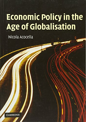 9780521540384: Economic Policy in the Age of Globalisation
